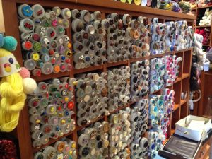 Buttons! Buttons! So many beautiful buttons!