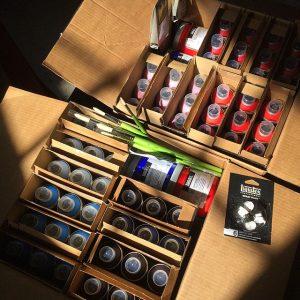 Jeremy paint cans