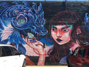 Colorado Crush Mural by Lauren - 27th & Larimer