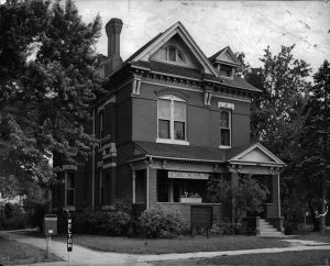 The Phylis Wheatley Branch of the Y.W.C.A. (2460 Welton Street). Image courtesy Stephen H. Hart Library & Research Center, History Colorado.