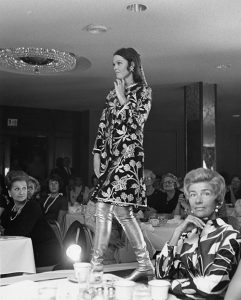 A fashion show at Neusteters. Image courtesy Stephen H. Hart Library & Research Center, History Colorado