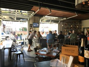 A sunny afternoon at The Bistro at Stapleton (26th & Ulster). Image: Tara Bardeen