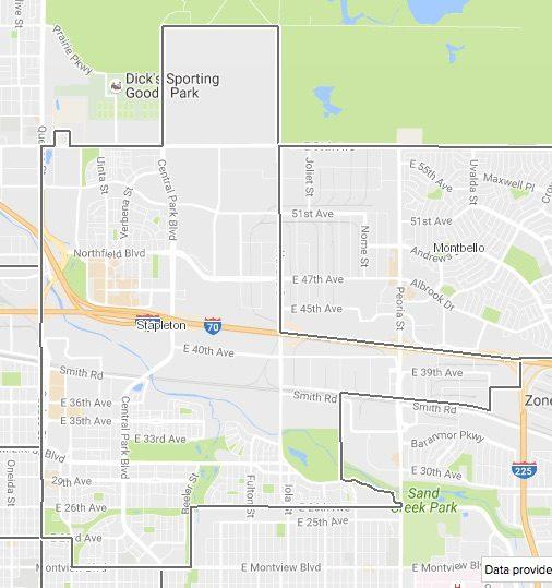 Map Stapleton Go Play Denver
