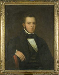 Portrait of General William Larimer painted in 1842. Image courtesy Stephen H. Hart Library & Research Center, History Colorado.