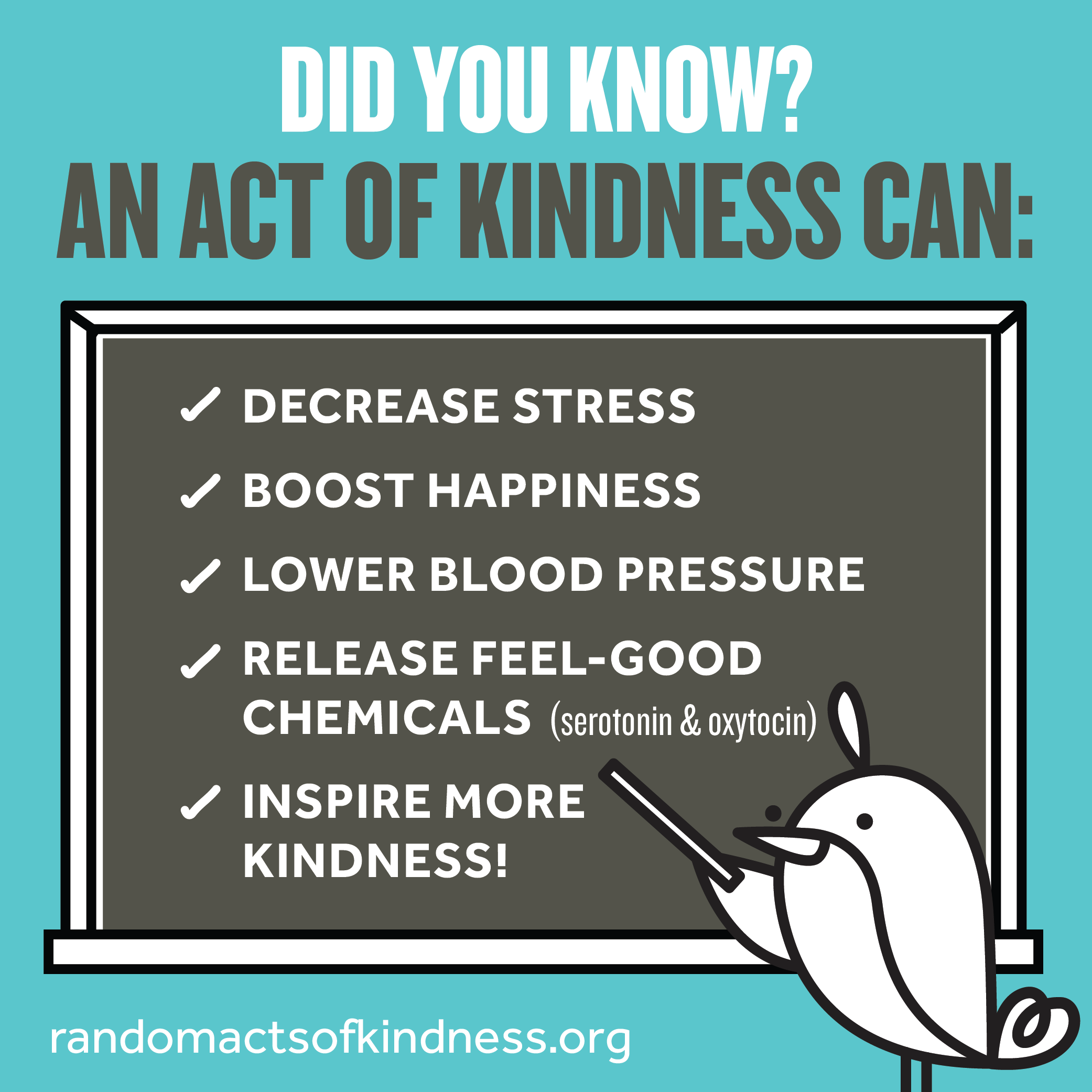 Happy Random Acts of Kindness Week!