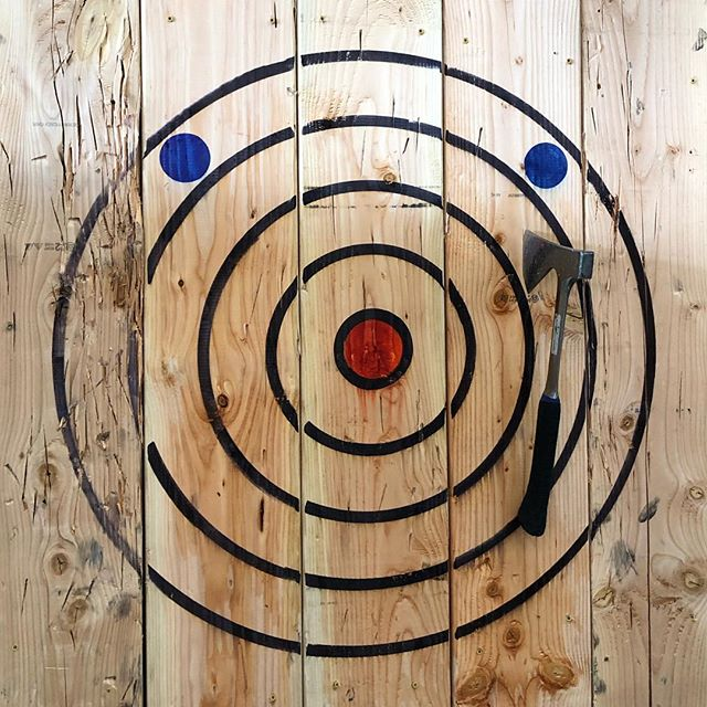 52 NEW: Axe Throwing